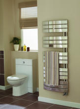 Towel Rails - Ideal Essential Aries Chrome Curved